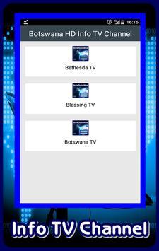 Botswana HD Info TV Channel poster