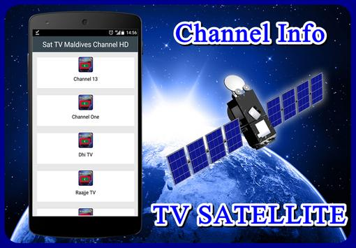 Sat TV Maldives Channel HD poster