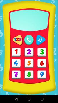 Baby phone game screenshot 1