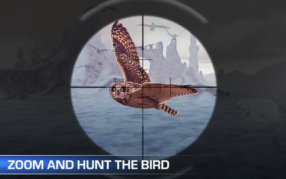 Snow Bird Hunting Sniper Hunt poster
