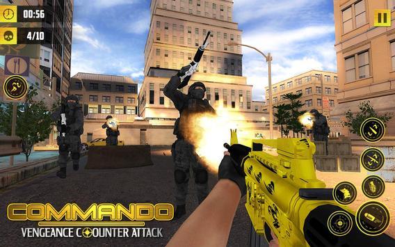 Commando Vengeance Attack poster