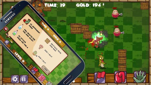 Zombie Fruits: Bite it ! screenshot 1