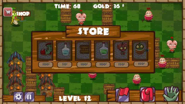 Zombie Fruits: Bite it ! screenshot 7