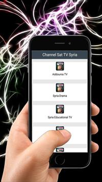 Channel Sat TV Syria poster