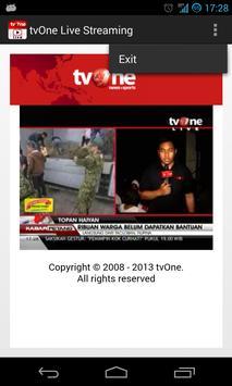 tvOne Live Streaming screenshot 2