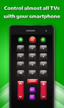 Fast Universal TV Remote Free screenshot 1