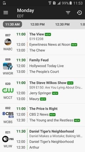 TV Listings for Android - APK Download