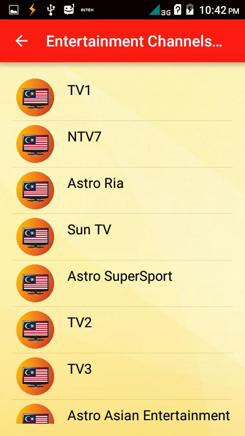 Malaysia Channels