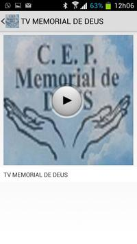 TV MEMORIAL DE DEUS apk screenshot