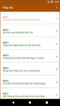 Thủy Hử Anh Hùng Truyện (Trọn bộ) apk screenshot
