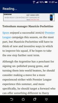 Breaking Tottenham News apk screenshot