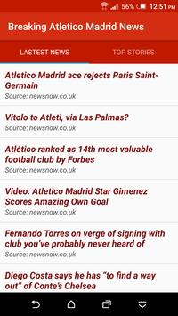 Breaking Atletico Madrid News poster