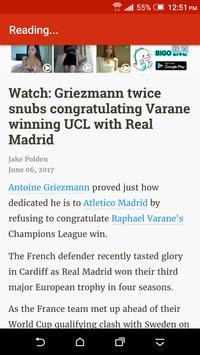 Breaking Atletico Madrid News apk screenshot