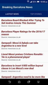 Breaking Barcelona News poster