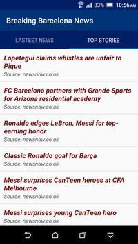 Breaking Barcelona News screenshot 1