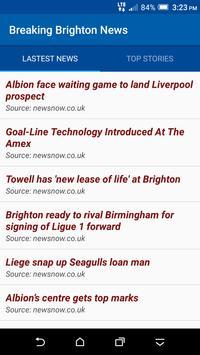 Breaking Brighton News poster