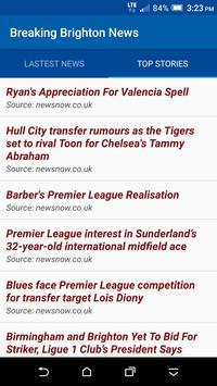 Breaking Brighton News screenshot 1