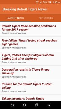 Breaking Detroit Tigers News poster