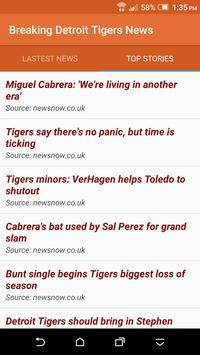 Breaking Detroit Tigers News screenshot 1
