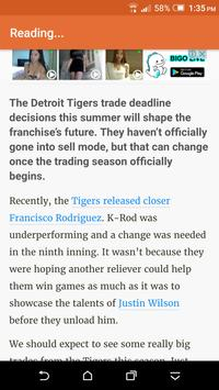 Breaking Detroit Tigers News screenshot 2