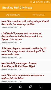 Breaking Hull City News poster