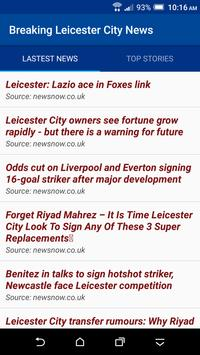 Breaking Leicester City News poster