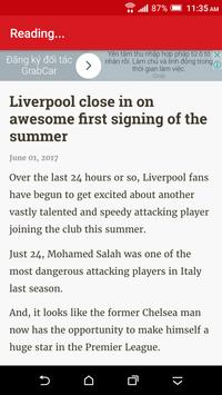 Breaking Liverpool News apk screenshot