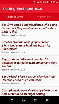 Breaking Sunderland News poster