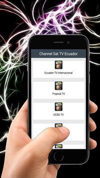 Channel Sat TV Ecuador poster
