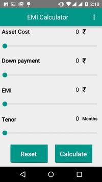 TVSCS EMI Calculator apk screenshot