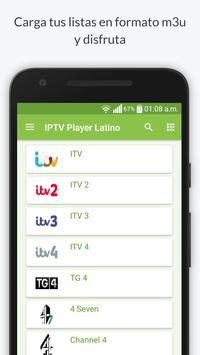 IPTV Player Latino Poster