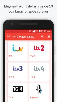 IPTV Player Latino captura de pantalla de la apk