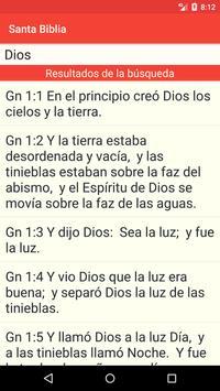 Santa Biblia screenshot 5