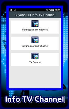 Guyana HD Info TV Channel poster