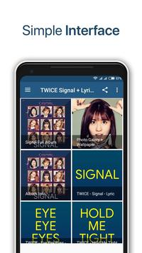TWICE - Signal + Lyrics Offline poster