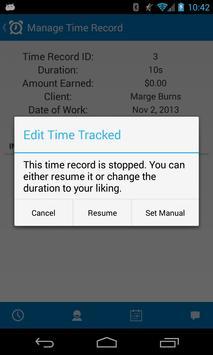 Time Boss: Time Billing screenshot 2