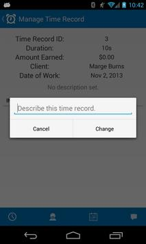 Time Boss: Time Billing screenshot 3
