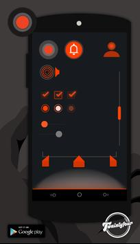 Orng - CM11 THEMES apk screenshot
