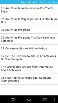 Antivirus Guides For Your Device poster