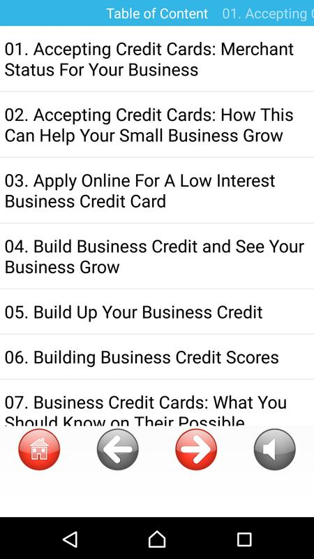 Business credit helps economy apk download free business app for business credit helps economy apk screenshot reheart Images