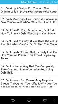 Audiobook - Debt poster