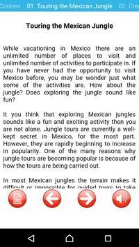 Mexico Travel Nature Adventure apk screenshot