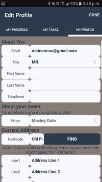 NHBC Moving Checklist apk screenshot