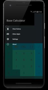 Base Calculator captura de pantalla 2