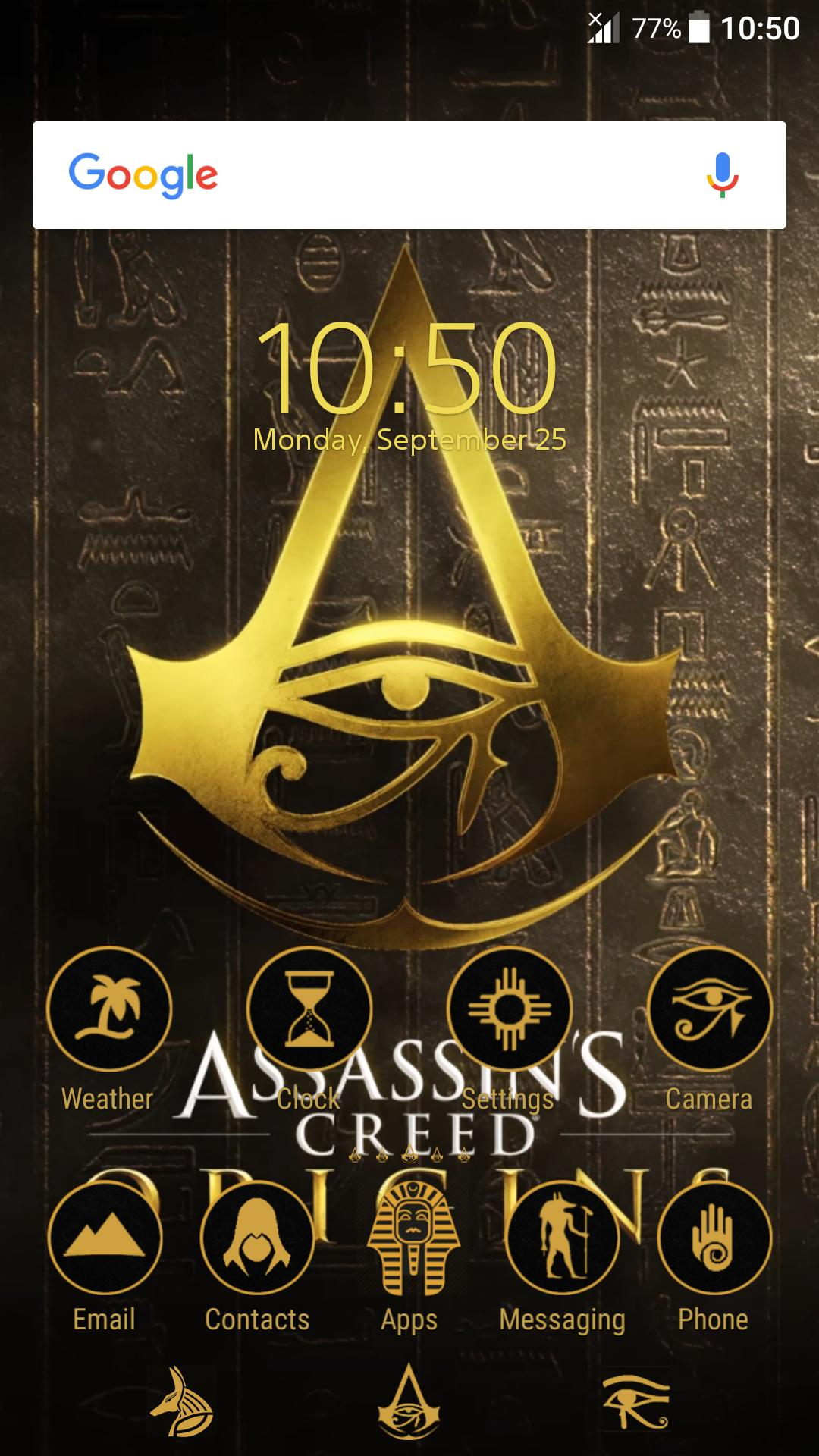 Assassins Creed Origins Xperia™ Theme for Android - APK Download
