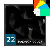 Polygon Black icon