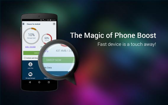 Cleaner For Android apk screenshot