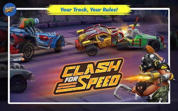 Clash for Speed – Xtreme Combat Car Racing Game الملصق