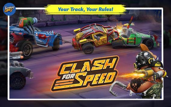 Clash for Speed – Xtreme Combat Car Racing Game تصوير الشاشة 16