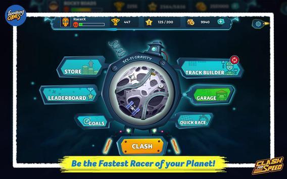 Clash for Speed – Xtreme Combat Car Racing Game تصوير الشاشة 18